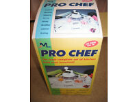 New kitchen tool set Pro Chef JML House, Food preparation: mixing, chopping, whipping, slicing etc.