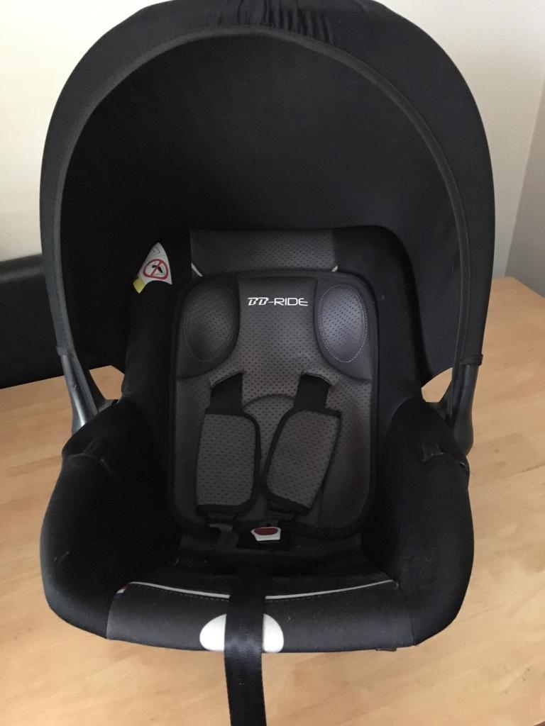 BB Ride baby car seat