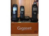 Gigaset AL415 A TRIO Full Boxed Set (Answering Machine, Cables and Batteries)