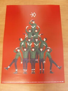 EXO-Miracles-In-December-Chinese-Ver-CD-Unfold-POSTER-2-99-Ship