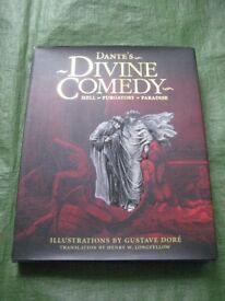 Brand New Dante's Divine Comedy in Hardback with Illustrations by Gustave Dore for £7.00