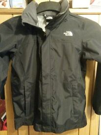 THE NORTH FACE never worn new Boy's Reflective Resolve DryVent® size 10/12