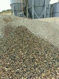 Drive gravel 20-40mm recycled washed pebbles shingle decorative stones hardcore