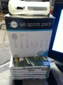 Fantastic tv wii games accessories bundle