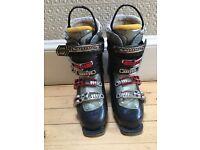 Solomon ladies ski boots size 25 ( 6-6.5)