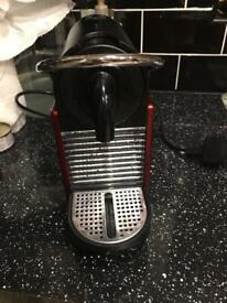 Nespresso magimix Pixie in red excellent condition