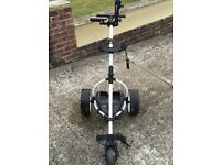 MOTOCADDY S1 DIGITAL BAG & ELECTRIC TROLLEY-BARELY USED-EXCELLENT CONDITION - CAN BE SOLD SEPARATELY