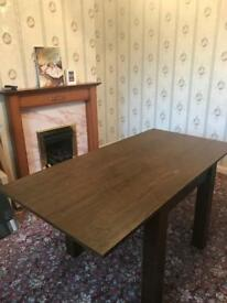 Dark Wood Next Table