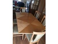 Dinning table , side Board , cabinet, sofa