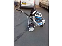 Powakaddy electric trolley & bag (27 hole lithium battery)