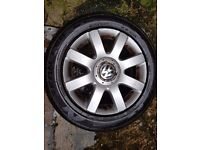 R16 Alloy wheels with Tyres