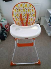Mamia childs high chair