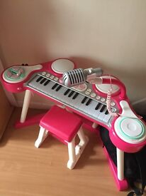 Early learning centre piano keyboard mic