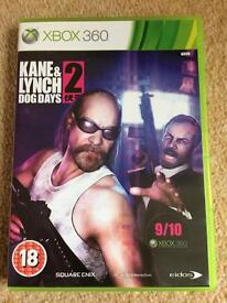 Kane & Lynch Dog Days 2 XBOX 360