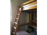 Double loft bed - Ikea Stora