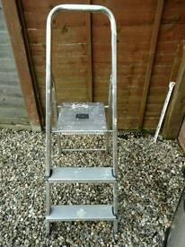 Step Ladder. Ladders.