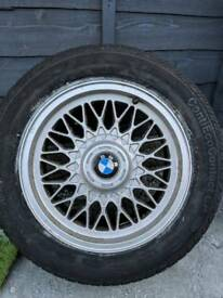 Bmw alloy wheel/tyre