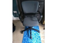 Ikea Computer Swivel chair -grey