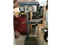 Floor mounted pillar drill
