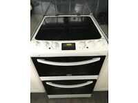 Zanussi double oven and grill