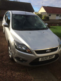 FORD FOCUS(2010) 1.6TDci Zetec, 1 year MOT