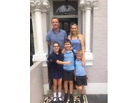 Live out after-school nanny/au pair for three children in Fulham SW6