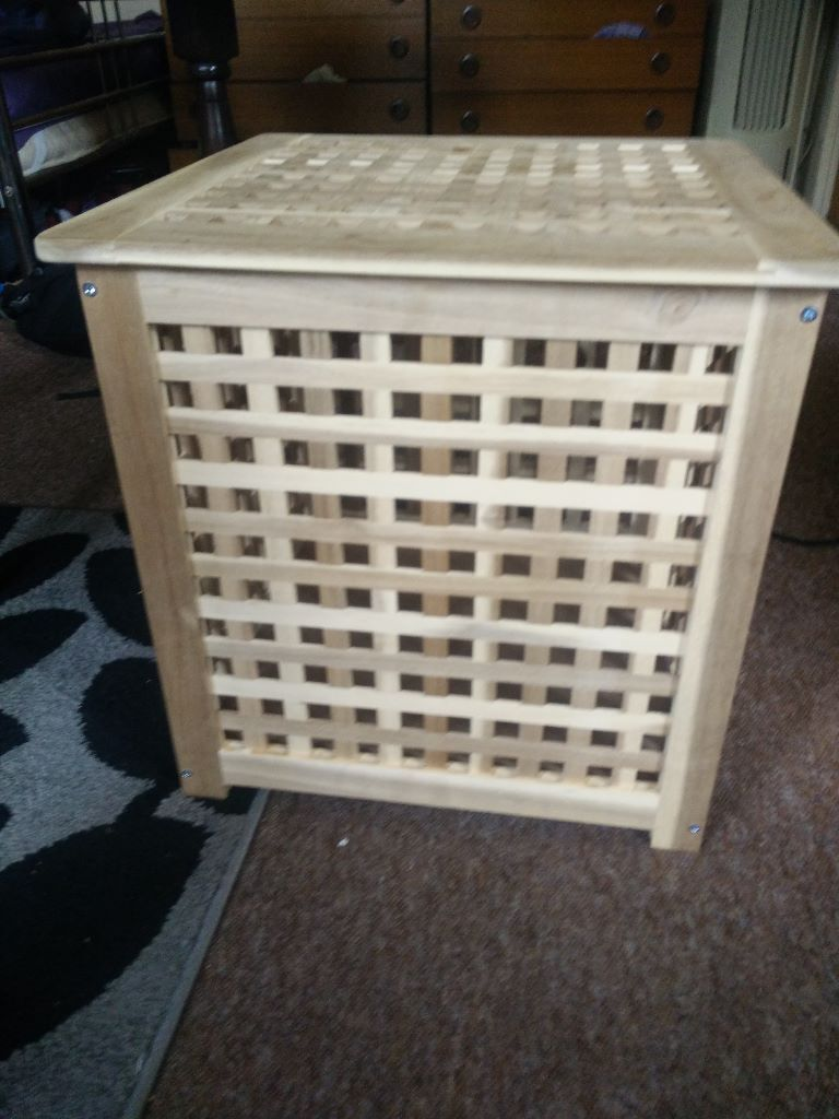Ikea Hol Storage Table Side Table Or Coffee Table Or Laundry Basket Blanket Box In Ealing