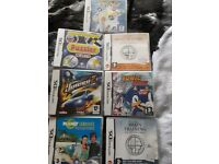 NINTENDO DS GAMES X7 *USED ONCE* GREAT CONDITION - RUNCORN