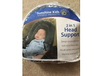 2 in 1 head support cushion