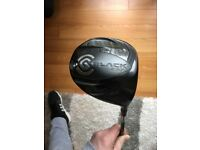 Cleveland black 265 driver and Cleveland classic XL 3 wood