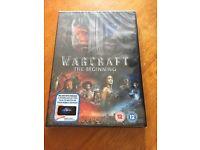 Warcraft DVD new