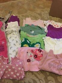 Bundle 6-9 baby girls clothes