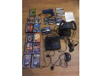Sega Saturn console various controllers and 11 games (SOLD - Awaiting collection)