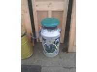 Vintage and collectible milk churns