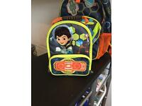 School bag and lunch box