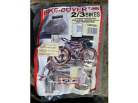 Fiamma bike cover for camper.