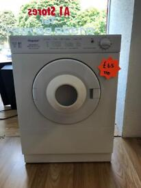 *** Hotpoint 3kg vented tumble dryer***Free Local Delivery***