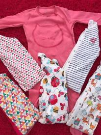 Girls Next Sleepsuit Bundle x6 18-24 Months