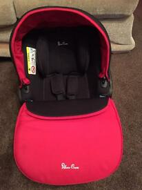 Silver Cross Simplicity car seat- chilli red