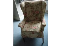 3 No. Vintage Parker Knoll Wingback Armchairs for re-covering / refurbishing