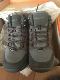 Peter storm grey walking/hiking boots.