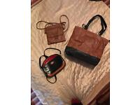 Selection of brown and black bsgs