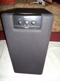 YAMAHA YST SW80 ACTIVE SUBWOOFER IN GOOD WORKING ORDER