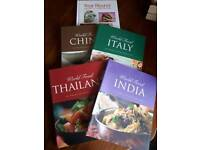 Various cookery books