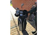 Great White Golf Irons with Bag