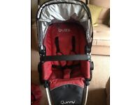Pram Quinny Buzz Stroller complete set 1st class condition.