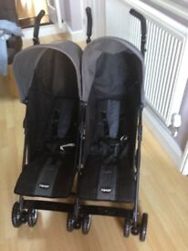 OBaby twin Apollo pushchair