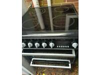 Hotpoint full electric double oven/top grill