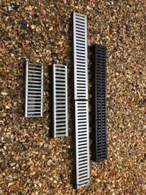 Drainage Channels one full metre plus various pieces