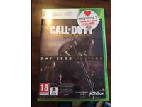 5 Xbox 360 games-call of duty...